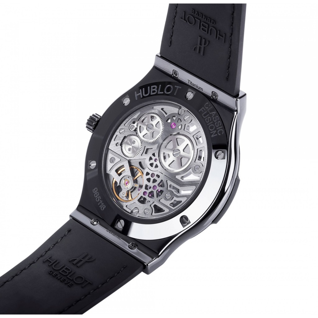 Copy Hublot Classic Fusion Ultra-Thin All Black Watches 0