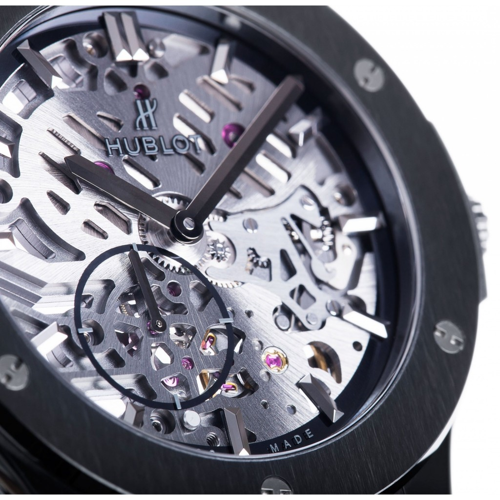 Copy Hublot Classic Fusion Ultra-Thin All Black Watches---