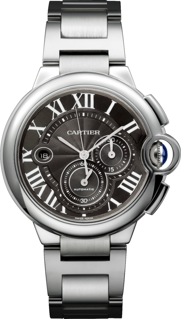 Fake Cartier Ballon Bleu De Chronograph  Gray Dial Watches
