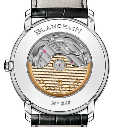 Steel Blancpain Villeret Annual Calendar GMT Fake Watches
