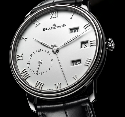 Steel Blancpain Villeret Annual Calendar GMT Replica Watches