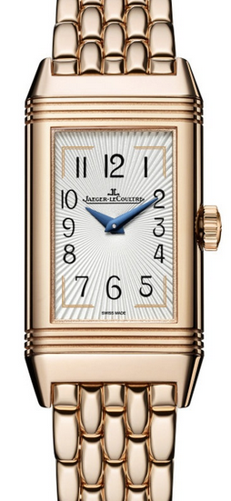 UK Rose Gold Jaeger-LeCoultre Reverso One Duetto Moon Replica Watches
