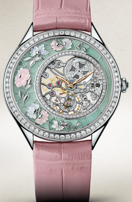 Pretty Round Vacheron Constantin Metiers D'Art Fabuleux Ornements Chinese Embroidery Replica Watches