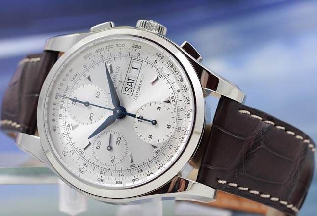 longines-heritage-fake-blue-steel-1