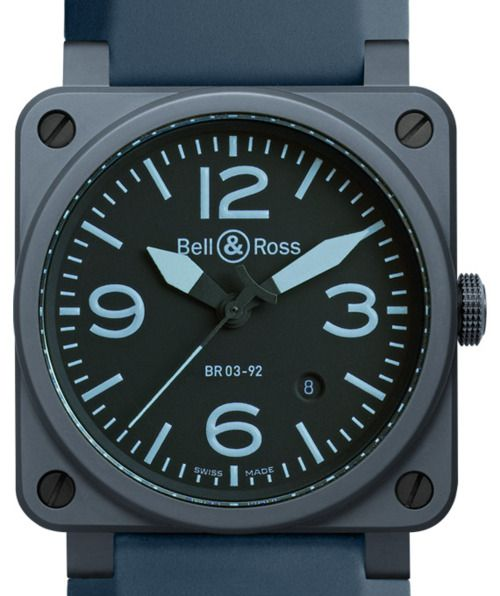 Bell-Ross-Aviation-Blue-Ceramic-Replica