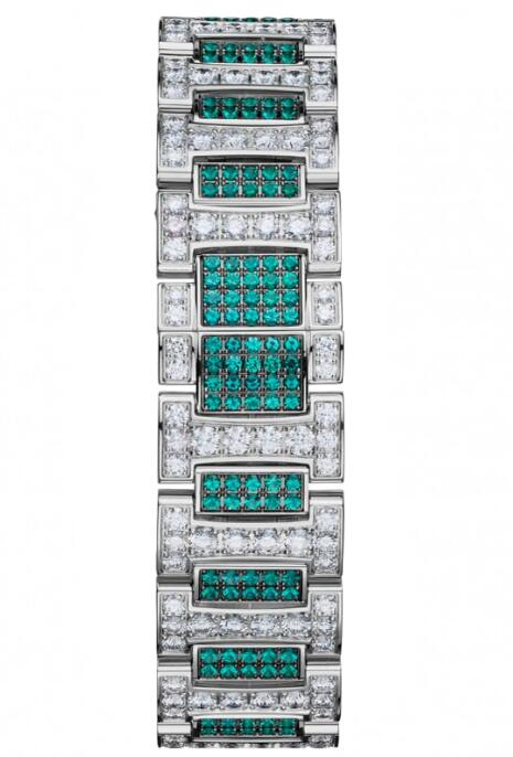 Their sparkling and exquisite appearances make the wrist watches more welcomed by rich ladies.