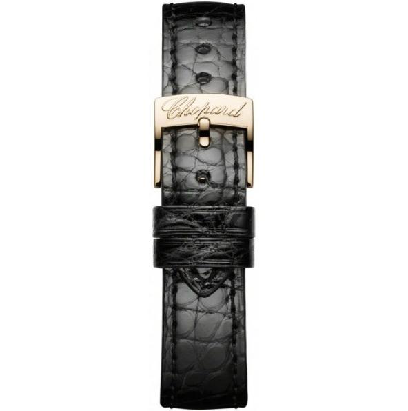 The comfortable fake Chopard Classic 134200-5001 watches have black leather straps.