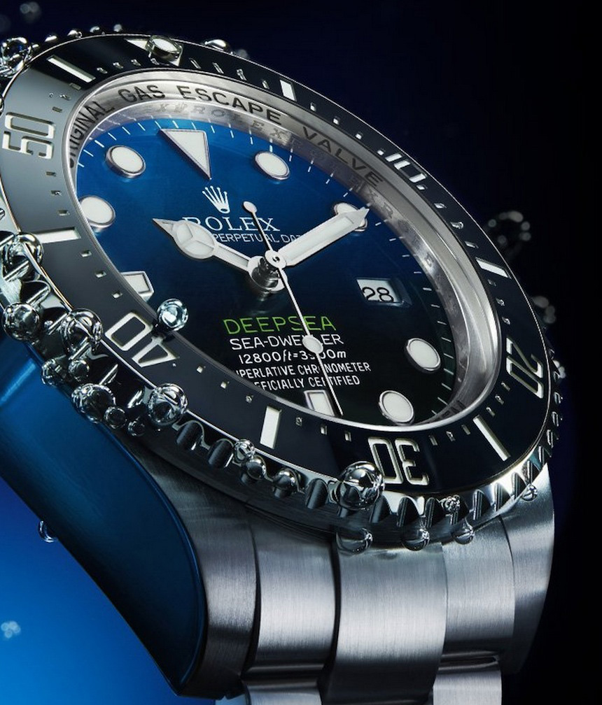 The water resistant fake watches are made from Oystersteel.