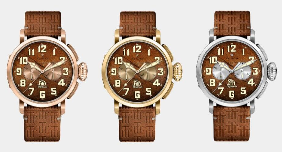Swiss imitation watches online have rose gold, gold and white gold versions.
